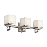 Kichler 45139NI Metro Park 3 Light 22 inch Brushed Nickel Bath Vanity Wall Light photo thumbnail