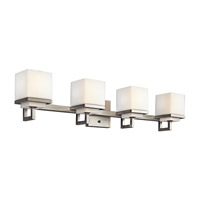 Kichler 45140NI Metro Park 4 Light 31 inch Brushed Nickel Bath Vanity Wall Light photo thumbnail