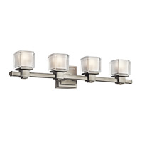 Kichler Lighting Rocklin 4 Light Bath Vanity in Brushed Nickel 45144NI photo thumbnail