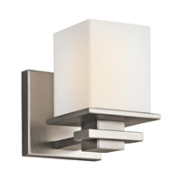 Kichler 45149AP Tully 1 Light 5 inch Antique Pewter Bath Vanity Wall Light
