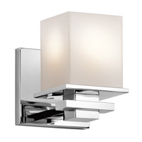 Tully 1 Light 5 inch Chrome Wall Sconce Wall Light