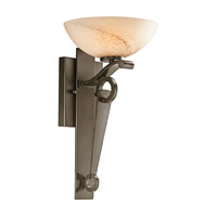 Kichler Lighting Garland 1 Light Wall Sconce in Shadow Bronze 45153SWZ photo thumbnail