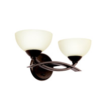 Kichler 45162OZ Bellamy 2 Light 15 inch Olde Bronze Bath Vanity Wall Light