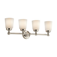Kichler Lighting Perth 4 Light Bath Vanity in Polished Nickel 45168PN photo thumbnail