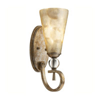 Kichler Lighting Roma Notte 1 Light Wall Sconce in Sunrise Mist 45169SRM photo thumbnail