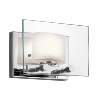 Kichler Lighting Como 1 Light Wall Bracket in Chrome 45170CH photo thumbnail