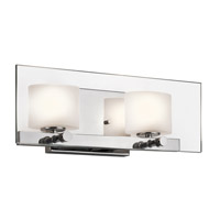 Kichler 45171CH Como 2 Light 16 inch Chrome Bath Wall Wall Light