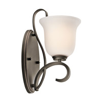 Kichler Lighting Sherbrooke 1 Light Wall Sconce in Olde Bronze 45174OZ