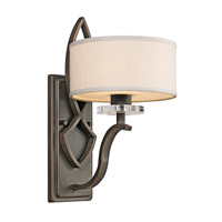 Kichler 45178OZ Leighton 1 Light 8 inch Olde Bronze Wall Sconce Wall Light photo thumbnail
