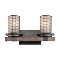 Kichler 45195AVI Ahrendale 2 Light 16 inch Anvil Iron Vanity Light Wall Light