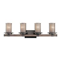 Kichler 45197AVI Ahrendale 4 Light 33 inch Anvil Iron Vanity Light Wall Light