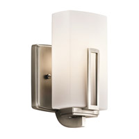 Kichler Lighting Leeds 1 Light Wall Sconce in Antique Pewter 45224AP