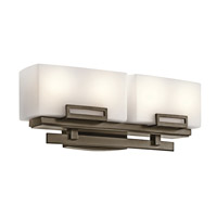 Kichler Lighting Leeds 4 Light Bath Vanity in Shadow Bronze 45225SWZ