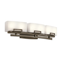 Kichler Lighting Leeds 6 Light Bath Vanity in Shadow Bronze 45226SWZ