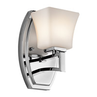 Kichler Lighting Luciani 1 Light Wall Sconce in Chrome 45238CH photo thumbnail