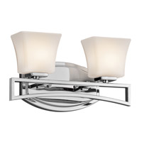 Kichler Lighting Luciani 2 Light Bath Vanity in Chrome 45239CH photo thumbnail