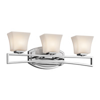 Kichler Lighting Luciani 3 Light Bath Vanity in Chrome 45240CH photo thumbnail