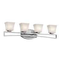 Kichler Lighting Luciani 4 Light Bath Vanity in Chrome 45241CH photo thumbnail