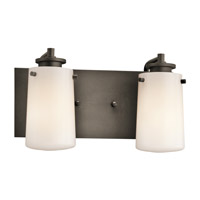 Kichler Lighting Knox 2 Light Bath Vanity in Olde Bronze 45266OZ photo thumbnail