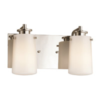 Kichler Lighting Knox 2 Light Bath Vanity in Polished Nickel 45266PN