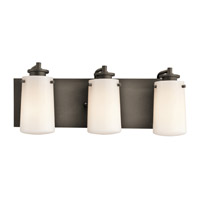 Kichler Lighting Knox 3 Light Bath Vanity in Olde Bronze 45267OZ photo thumbnail