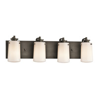 Kichler Lighting Knox 4 Light Bath Vanity in Olde Bronze 45268OZ photo thumbnail