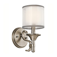 Kichler 45281AP Lacey 1 Light 5 inch Antique Pewter Wall Sconce Wall Light photo thumbnail