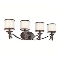 Kichler 45284MIZ Lacey 4 Light 31 inch Mission Bronze Wall Mt Bath 4 Arm Wall Light thumb