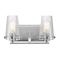 Kichler 45296CH Alton 2 Light 14 inch Chrome Vanity Light Wall Light