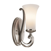 Kichler Lighting Wickham 1 Light Wall Sconce in Classic Pewter 45300CLP photo thumbnail