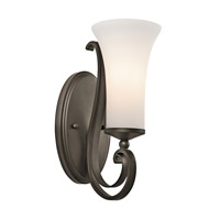 Kichler Lighting Wickham 1 Light Wall Sconce in Olde Bronze 45300OZ photo thumbnail