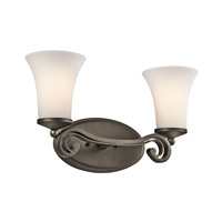 Kichler Lighting Wickham 2 Light Bath Vanity in Olde Bronze 45301OZ
