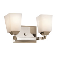 Kichler Lighting Chepstow 2 Light Bath Vanity in Polished Nickel 45305PN photo thumbnail