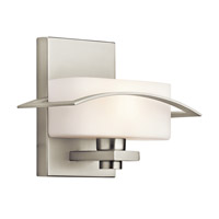 Kichler Lighting Suspension 1 Light Wall Sconce in Brushed Nickel 45315NI