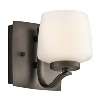 Kichler Lighting Truett 1 Light Wall Sconce in Olde Bronze 45328OZ photo thumbnail