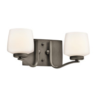 Kichler Lighting Truett 2 Light Bath Vanity in Olde Bronze 45329OZ