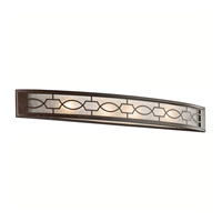 Kichler Lighting Punctuation 4 Light Bath Vanity in Mission Bronze 45353MIZ photo thumbnail