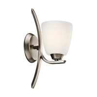 Kichler 45358BPT Granby 1 Light 5 inch Brushed Pewter Wall Sconce Wall Light