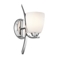 Kichler 45358CH Granby 1 Light 5 inch Chrome Bath Vanity Wall Light