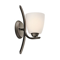 Kichler 45358OZ Granby 1 Light 5 inch Olde Bronze Wall Bracket Wall Light