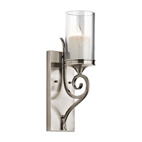 Lara 1 Light 5 inch Classic Pewter Wall Sconce Wall Light