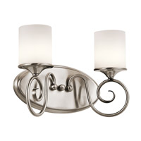 Kichler Lighting Lara 2 Light Bath Vanity in Classic Pewter 45363CLP photo thumbnail