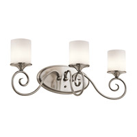 Kichler Lighting Lara 3 Light Bath Vanity in Classic Pewter 45364CLP