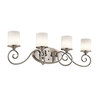 Kichler Lighting Lara 4 Light Bath Vanity in Classic Pewter 45365CLP photo thumbnail