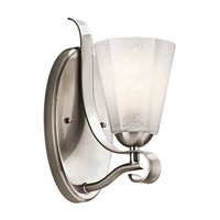 Kichler Lighting Mara 1 Light Bath Vanity in Classic Pewter 45366CLP