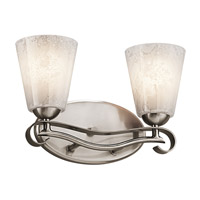 Kichler Lighting Mara 2 Light Bath Vanity in Classic Pewter 45367CLP