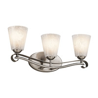 Kichler Lighting Mara 3 Light Bath Vanity in Classic Pewter 45368CLP photo thumbnail