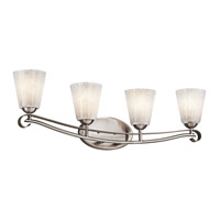 Kichler Lighting Mara 4 Light Bath Vanity in Classic Pewter 45369CLP