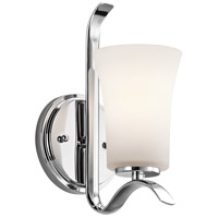 Kichler 45374CH Armida 1 Light 5 inch Chrome Wall Sconce Wall Light in Standard
