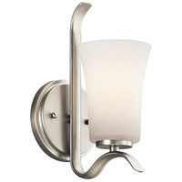 Kichler Armida 1 Light Wall Bracket in Brushed Nickel 45374NIFL